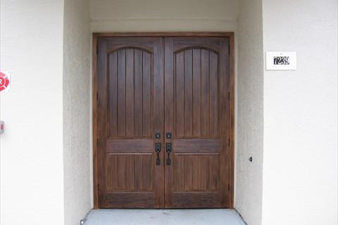 Custom Doors & Garage Doors | Faux Wood Grain Finishes | Chic ...